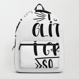 Tote Bag I Craft So Hard I Sweat Glitter Craft Bag Crafting Bag Backpack