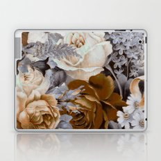 wintery floral Laptop & iPad Skin