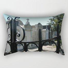Through the Gate Rectangular Pillow