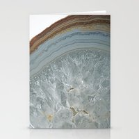 agate Stationery Cards featuring Agate by CAROL HU