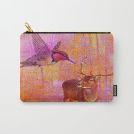 The loves platonic of the hummingbird and the deer Carry-All Pouch