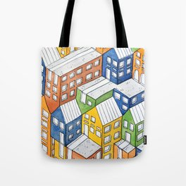 House on house Tote Bag