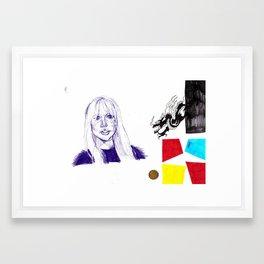 des16 Framed Art Print