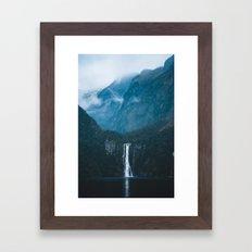 Majestic Milford Sound Framed Art Print