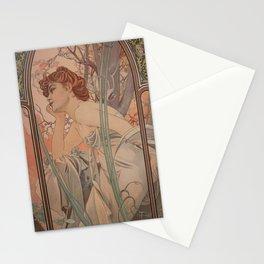 Alfonse Mucha HF2 Stationery Cards