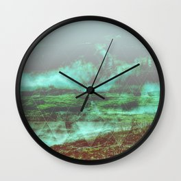 ALFA Geometric Landscape Wall Clock