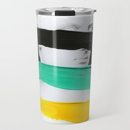 Untitled (Finger Paint 1) Travel Mug