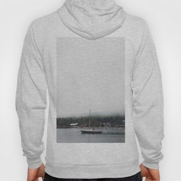 Sailboat and the Fog Hoody