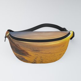 Cannon Beach Oregon at Sunset Haystack Rock Fanny Pack