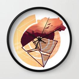 Bear Design Wall Clock
