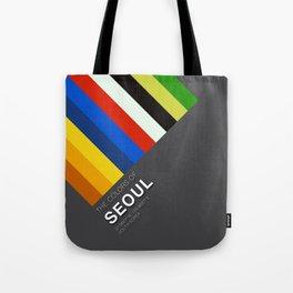 Colors of Seoul Tote Bag
