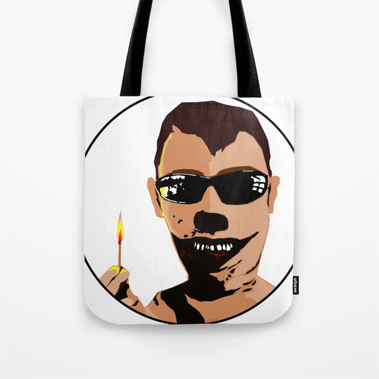 Mr. F - Arsonist Tote Bag