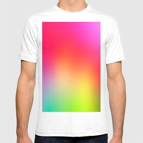 Fluorescent neon colors t shirt by t m b society6 for Neon coloured t shirts