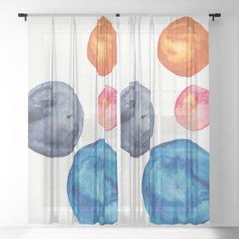 3    Abstract Geometric   191015 Sheer Curtain
