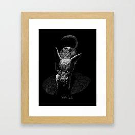 Egyptian Deities: Duamutef Framed Art Print