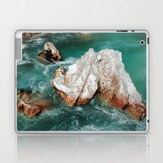 Sharp rock in river Laptop & iPad Skin