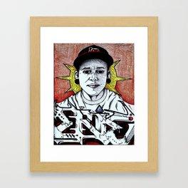 ERIE DIVINE Framed Art Print