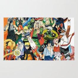 Naruto shippuden Rug