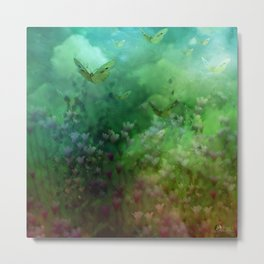 """The Enchanted Forest"" (Fairyland) Metal Print"