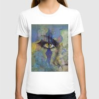 gothic T-shirts featuring Gothic Art by Michael Creese