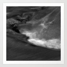 Water current Art Print
