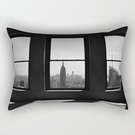 NY Window Rectangular Pillow