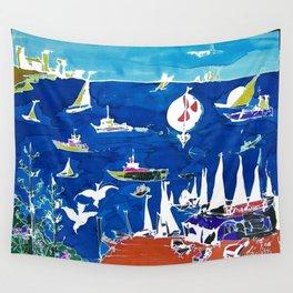 The Marina, Southport, AUSTRALIA        by Kay Lipton Wall Tapestry