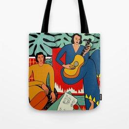 Musica Tote Bag