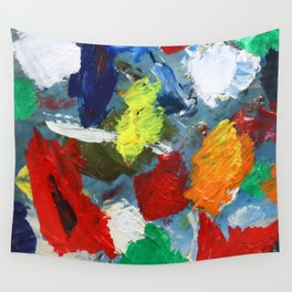 The Artist's Palette Wall Tapestry