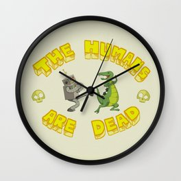 The Humans are Dead Wall Clock