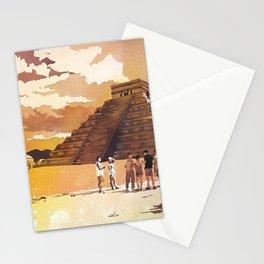 Mayan ruins at Chichen Itza, in the Yucatan Peninsula- Mexico. Stationery Cards