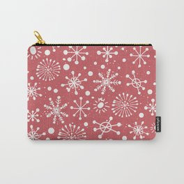 Hand Drawn Snowflakes Carry-All Pouch