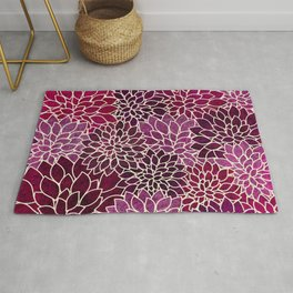 Floral Abstract 12 Rug