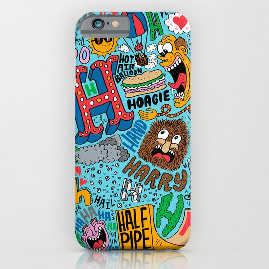 H Pattern iPhone & iPod Case