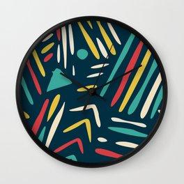 Plain fun abstract wall art Wall Clock