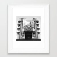 cinema Framed Art Prints featuring Cinema by Chris Meiklejohn
