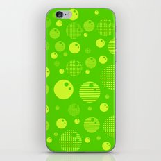 Bubblemagic - Lime iPhone & iPod Skin