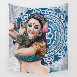Barbara Oshun Belly Dancer Wall Tapestry