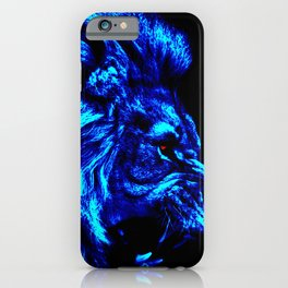 Lion the King of Beasts iPhone Case