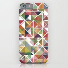 Chromatic Grid iPhone 6s Slim Case