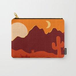 Desert Sunset Carry-All Pouch