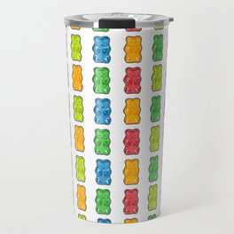 Rainbow Gummy Bears Travel Mug