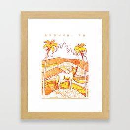 Cali Ghost Framed Art Print