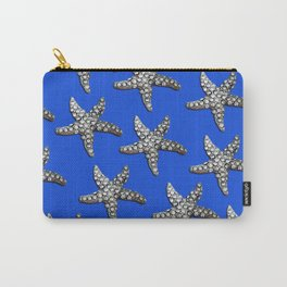 Starfish Blue Carry-All Pouch