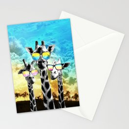 Crazy Cool Giraffe Stationery Cards