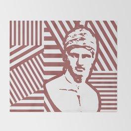Gods Geometric - Ares Throw Blanket