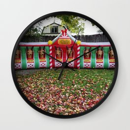 Santa's Getting Ready! Wall Clock