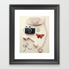 You Are Lovely Framed Art Print