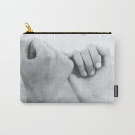 Promise for Forever- a couple pinky-swear Carry-All Pouch
