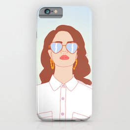 Born To Slé iPhone Case
